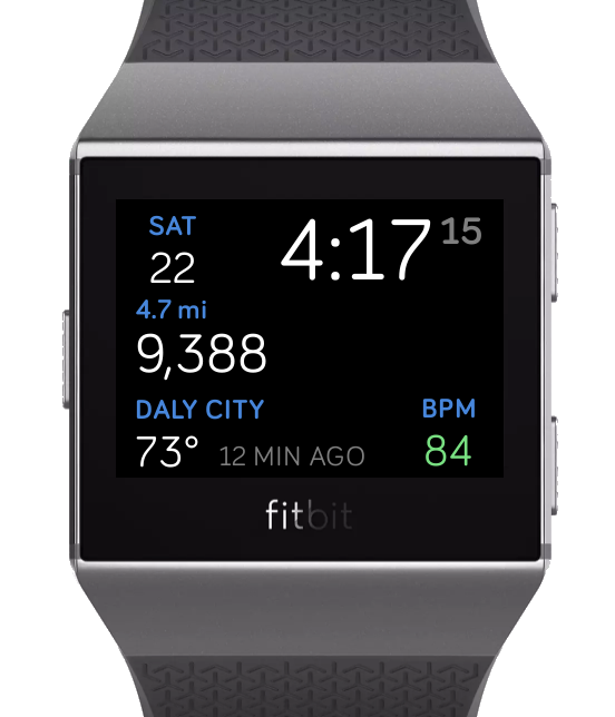 Fitbit Watch Face
